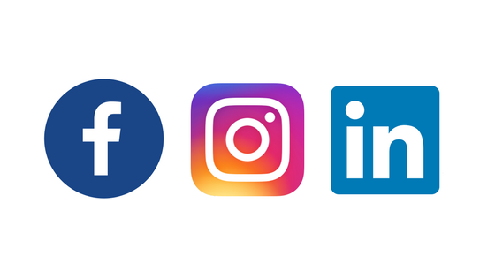 Use Facebook, Instagram or LinkedIn to find new customers